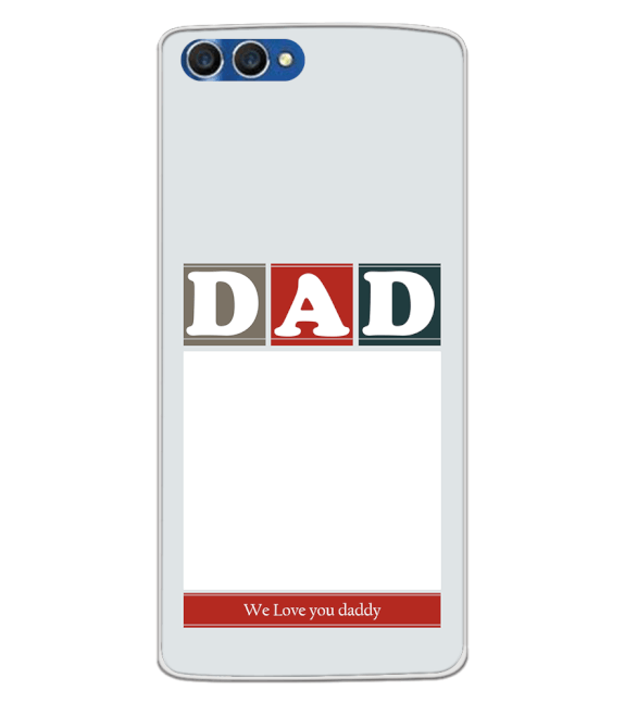 Love Dad Back Cover for Homtom H3