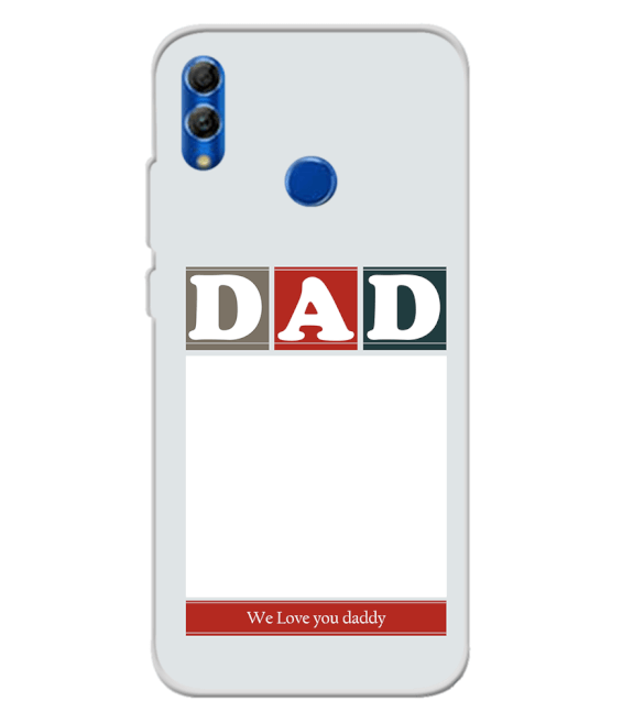 Love Dad Back Cover for Honor 10 Lite