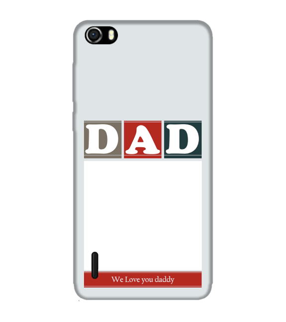 Love Dad Back Cover for Huawei Honor 6