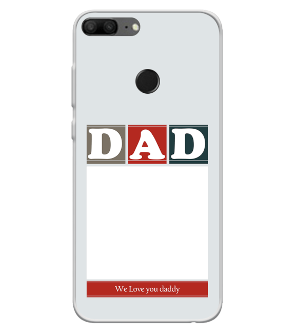 Love Dad Back Cover for Huawei Honor 9 Lite
