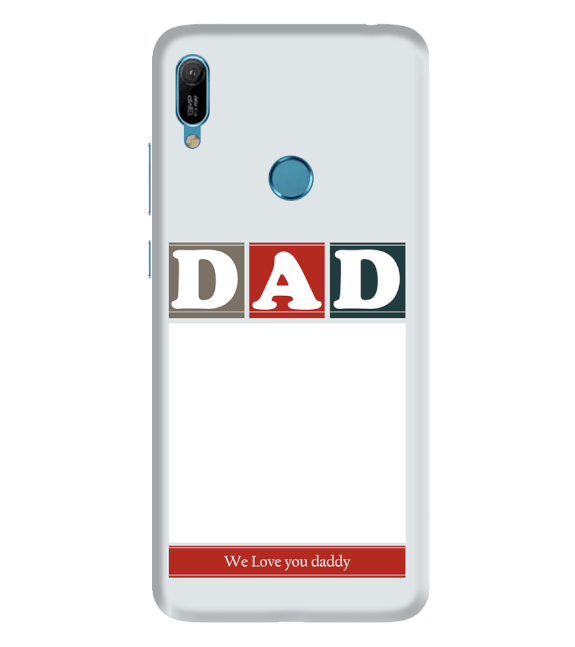 Love Dad Back Cover for Huawei Y6 Prime (2019)