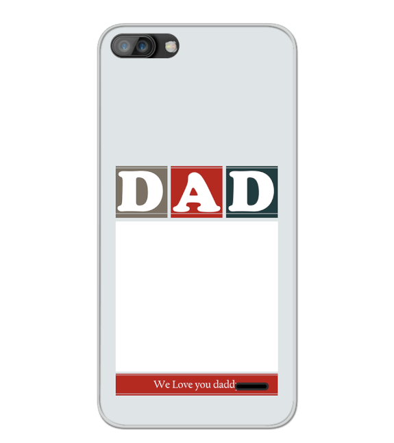 Love Dad Back Cover for iKall K1