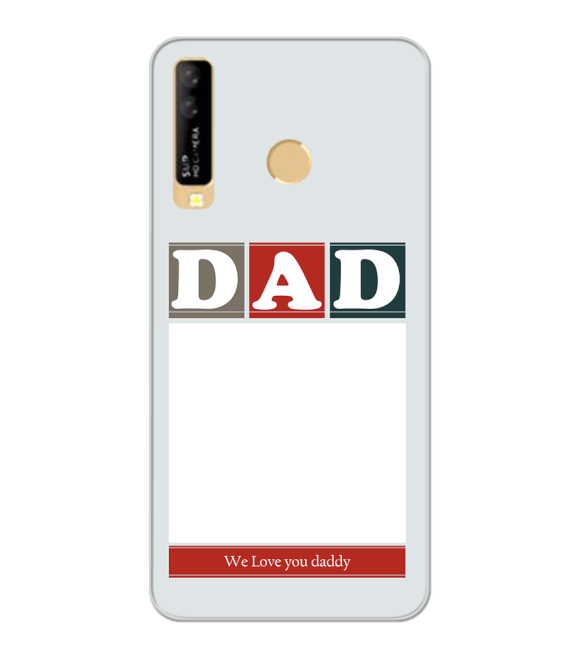 Love Dad Back Cover for iKall K10