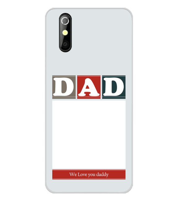Love Dad Back Cover for iKall K200