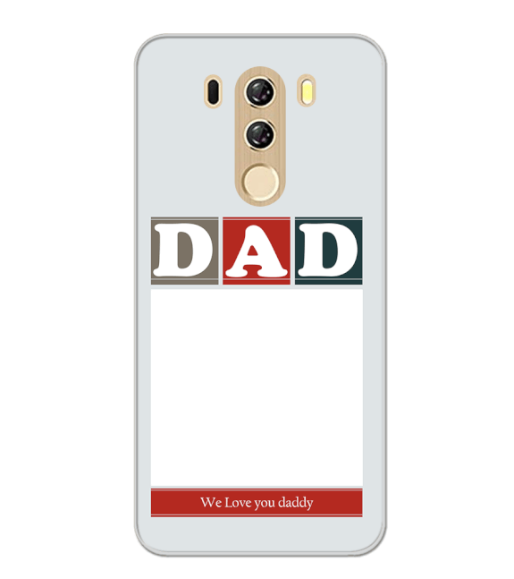 Love Dad Back Cover for iKall K4