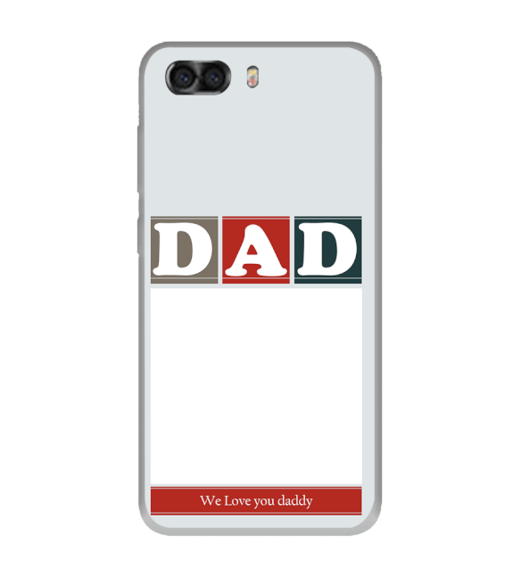 Love Dad Back Cover for InFocus Turbo 5 Plus