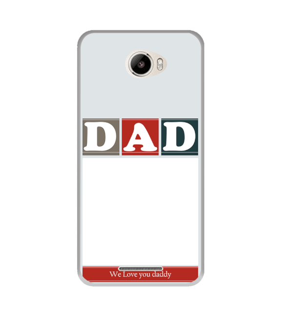 Love Dad Back Cover for Intex Intx Trend Lite
