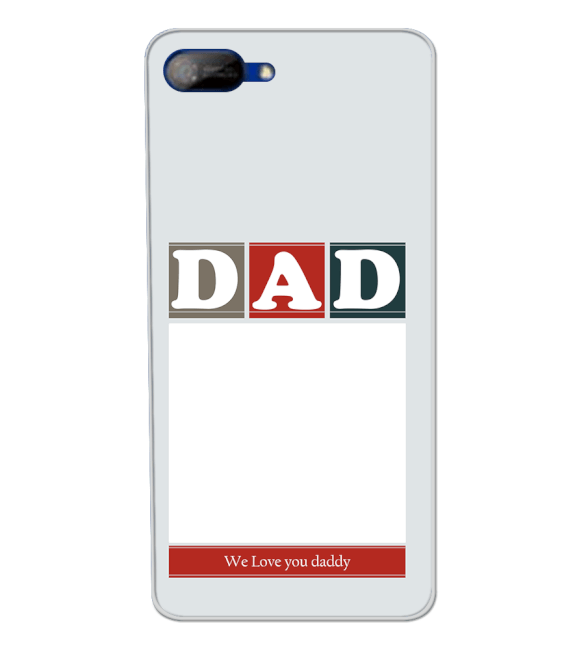 Love Dad Back Cover for Itel A25