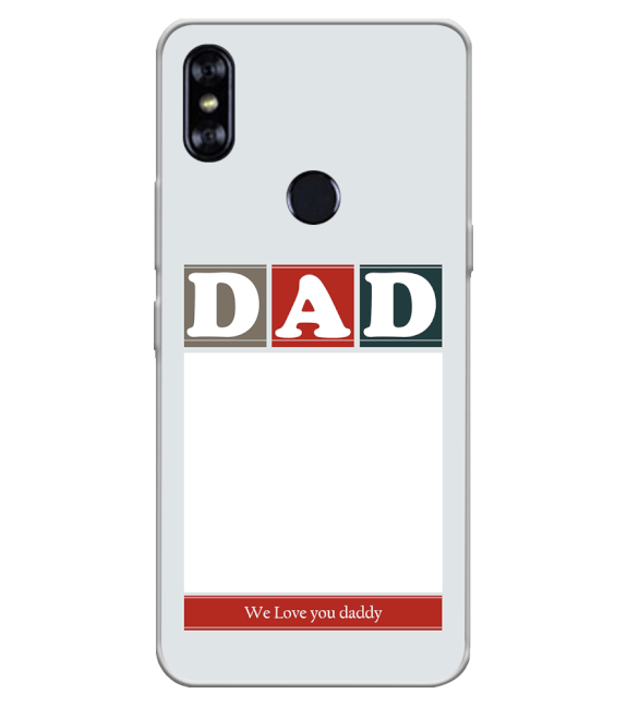 Love Dad Back Cover for Itel A62