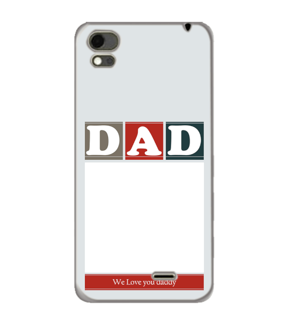 Love Dad Back Cover for Karbonn Aura Note 4G
