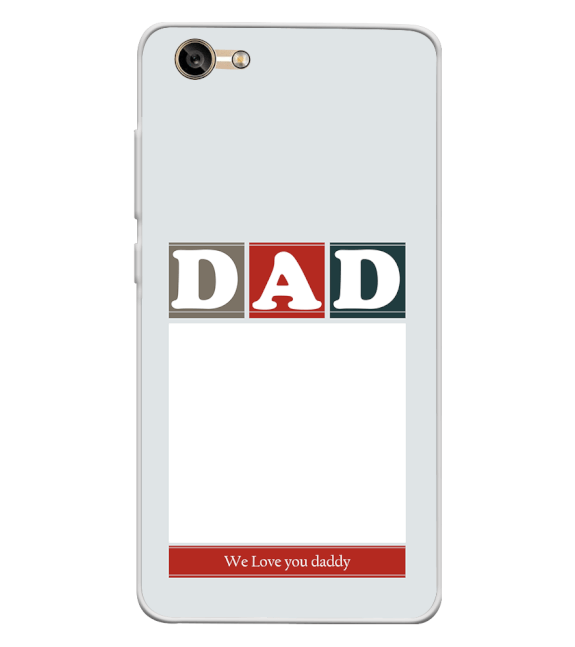 Love Dad Back Cover for Lava A77