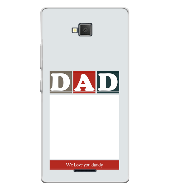 Love Dad Back Cover for Lava A82