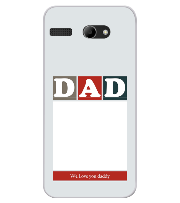 Love Dad Back Cover for Lava Iris Atom X
