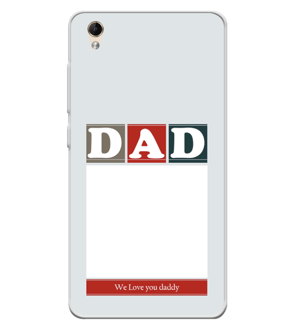 Love Dad Back Cover for Lava Z60