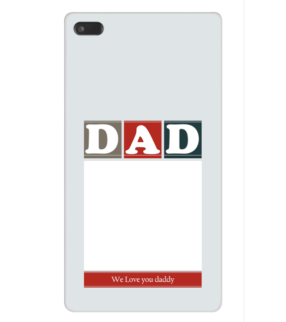 Love Dad Back Cover for Lenovo Tab 7