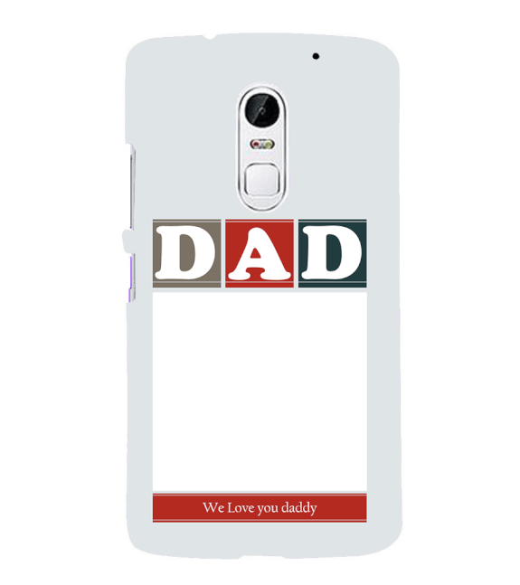 Love Dad Back Cover for Lenovo Vibe X3