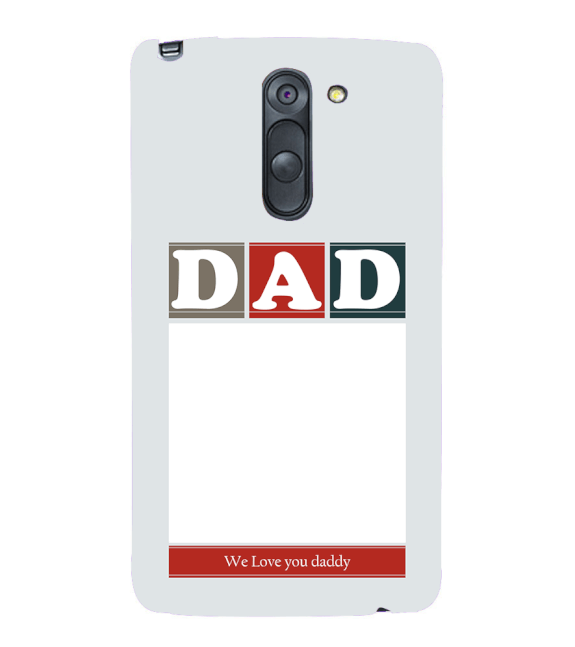 Love Dad Back Cover for LG G3 Stylus