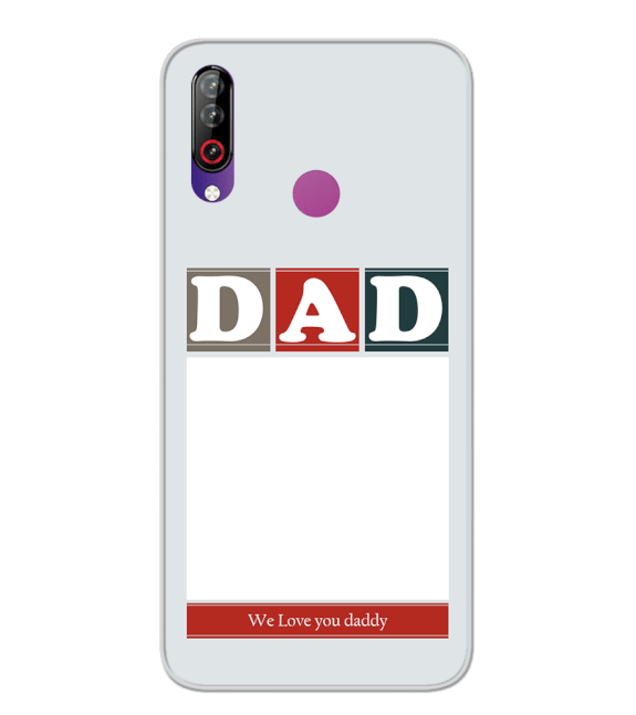 Love Dad Back Cover for LG W30