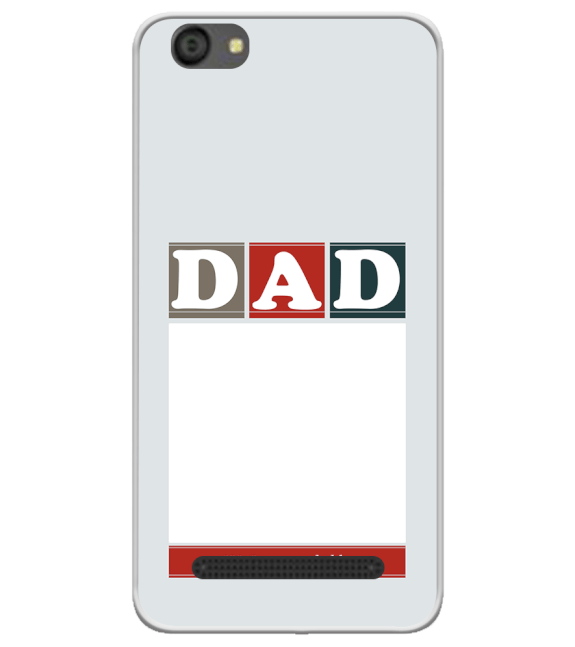 Love Dad Back Cover for LYF Flame 5