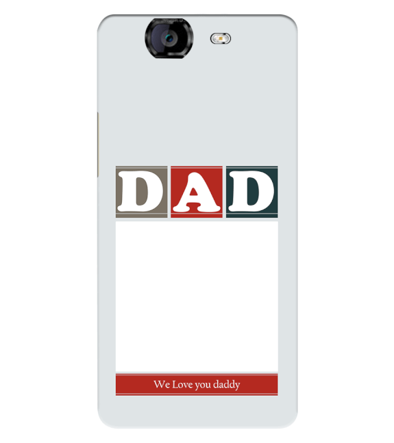 Love Dad Back Cover for Micromax A350 Canvas Knight