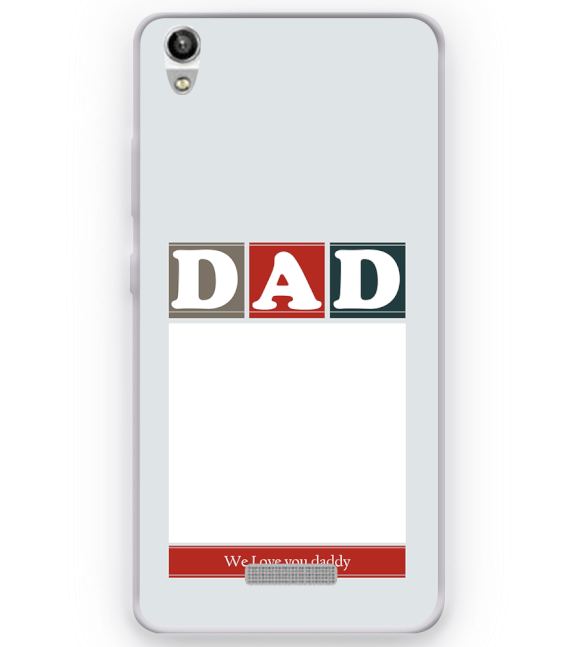 Love Dad Back Cover for Micromax Canvas Fire 5 Q386
