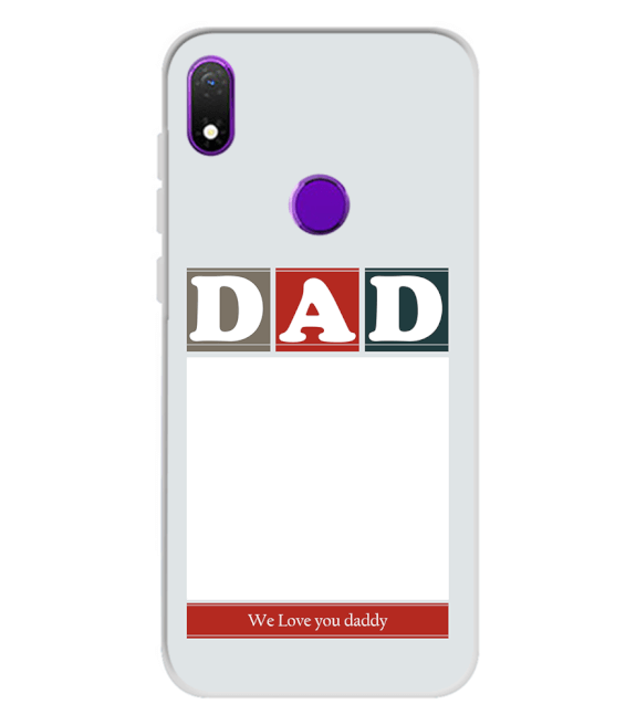 Love Dad Back Cover for Mobiistar X1 Notch