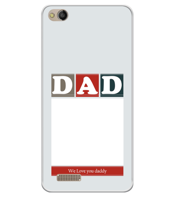 Love Dad Back Cover for Mobistar CQ Dual
