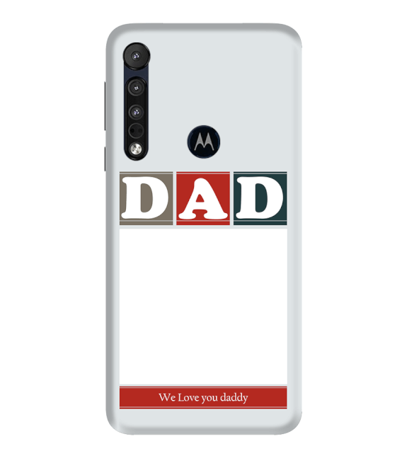 Love Dad Back Cover for Motorola One Macro