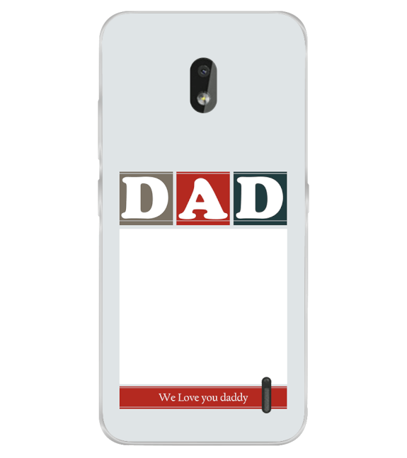 Love Dad Back Cover for Nokia 2.2