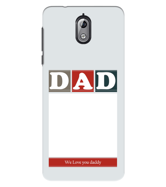 Love Dad Back Cover for Nokia 3.1 (2018)