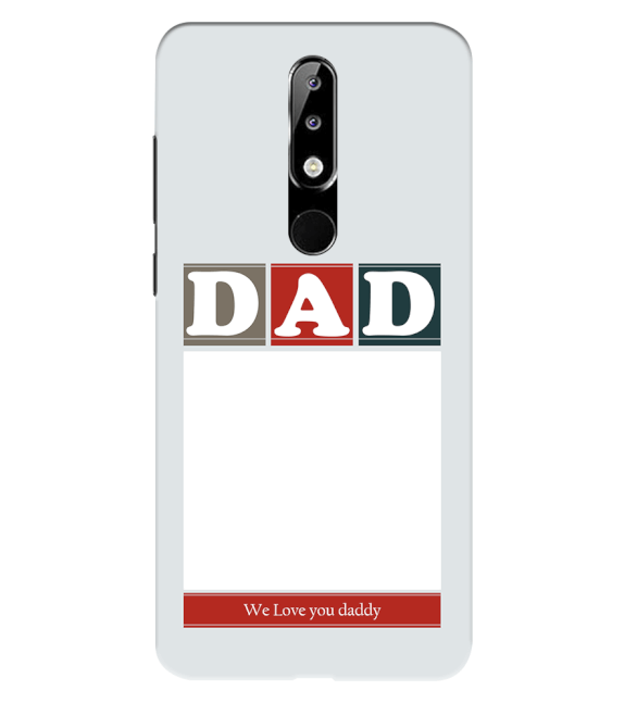 Love Dad Back Cover for Nokia 5.1 Plus (Nokia X5)