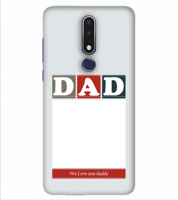 Love Dad Back Cover for Nokia 7.1
