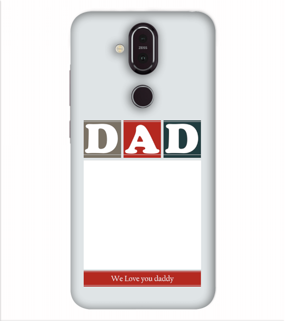 Love Dad Back Cover for Nokia 8.1 (Nokia X7)