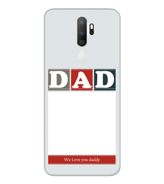 Love Dad Back Cover for Oppo A5 (2020)