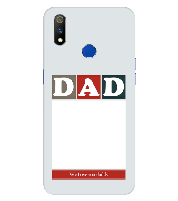 Love Dad Back Cover for Realme 3 Pro
