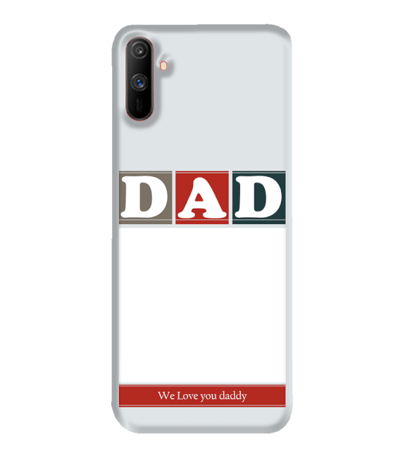 Love Dad Back Cover for Realme C3