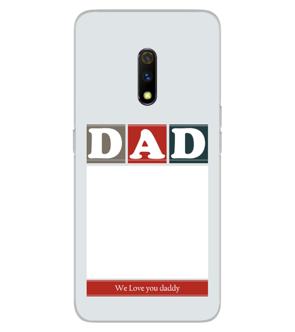 Love Dad Back Cover for Realme X