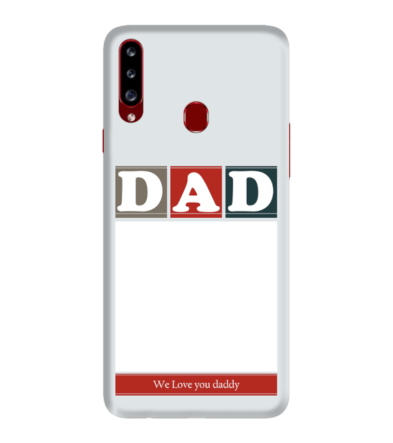 Love Dad Back Cover for Samsung Galaxy A20s