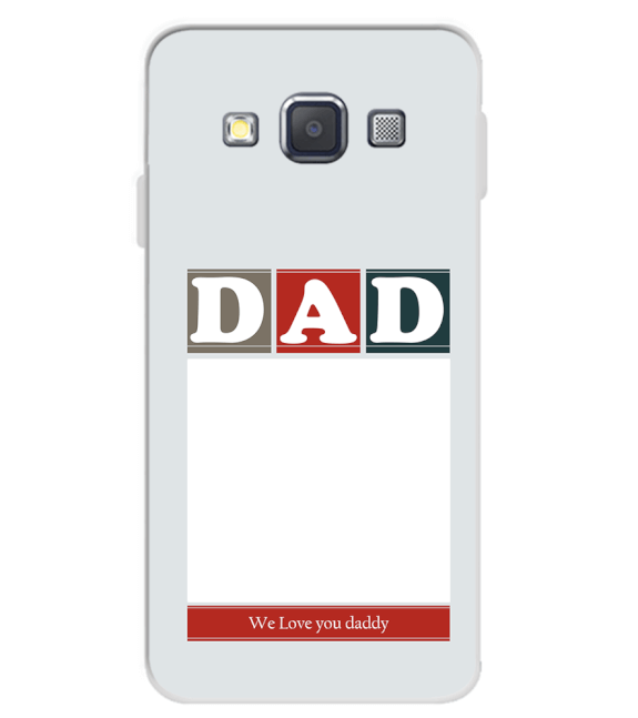 Love Dad Back Cover for Samsung Galaxy A3 (2015)
