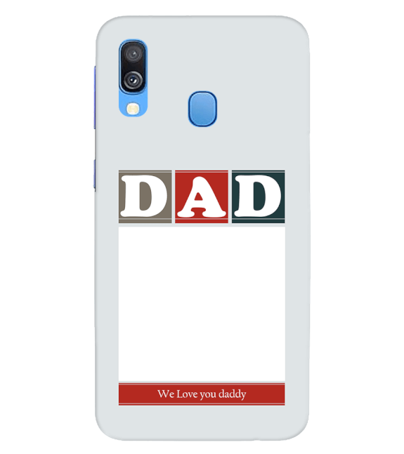 Love Dad Back Cover for Samsung Galaxy A40