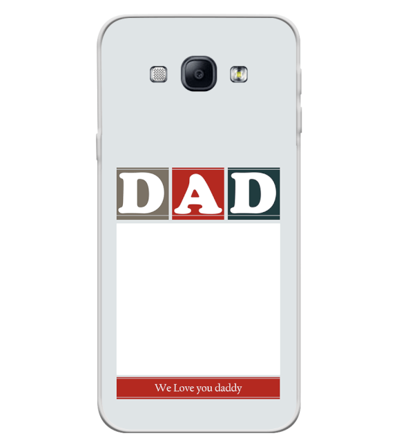 Love Dad Back Cover for Samsung Galaxy A8 (2015)