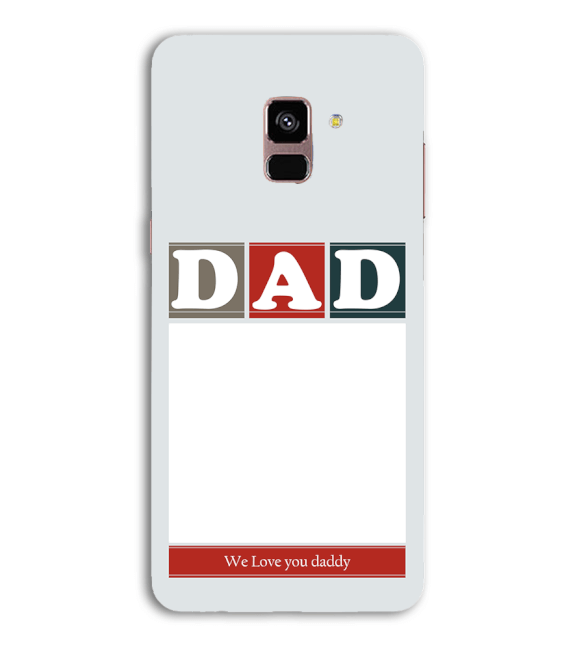 Love Dad Back Cover for Samsung Galaxy A8 (2018)