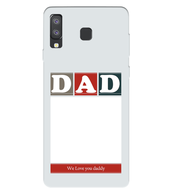 Love Dad Back Cover for Samsung Galaxy A8 Star