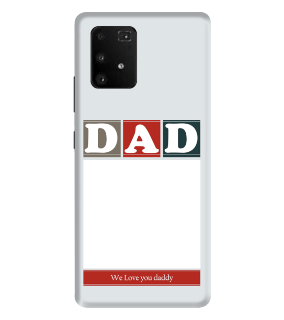 Love Dad Back Cover for Samsung Galaxy A91