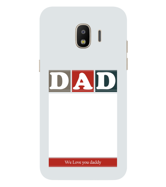 Love Dad Back Cover for Samsung Galaxy J2 (2018)