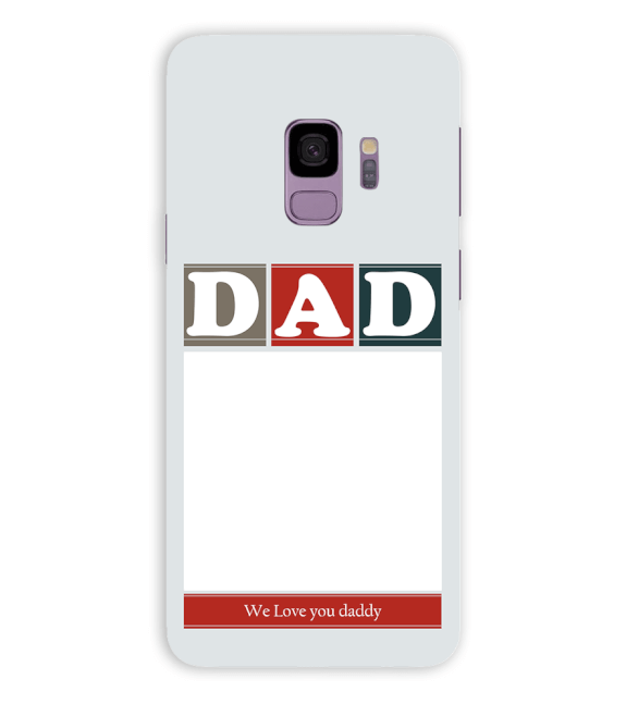 Love Dad Back Cover for Samsung Galaxy S9