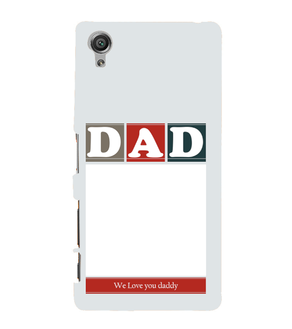 Love Dad Back Cover for Sony Xperia X