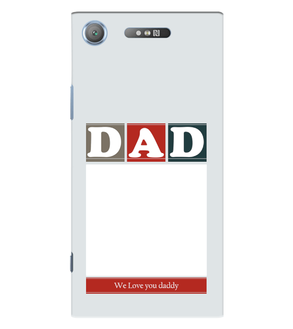 Love Dad Back Cover for Sony Xperia XZ1