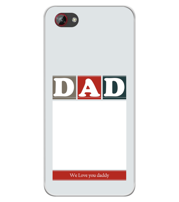 Love Dad Back Cover for Spice F301