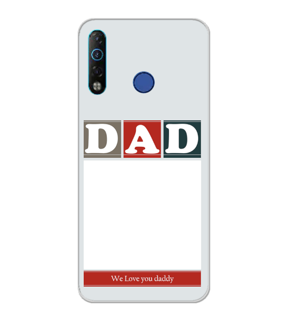 Love Dad Back Cover for Tecno Camon 12 Air